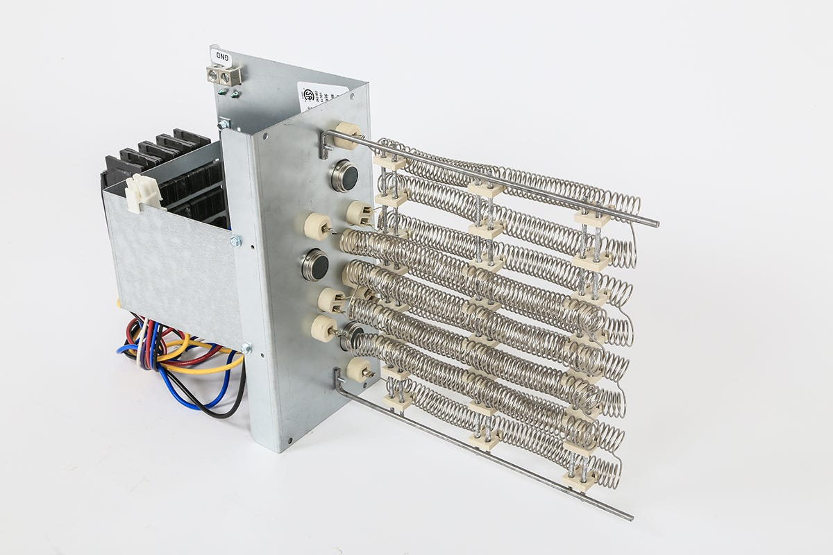 Photograph of Ideal-Air Electric Heat Strip w/ Circuit Breaker 15 kW 208 / 230 Volt
