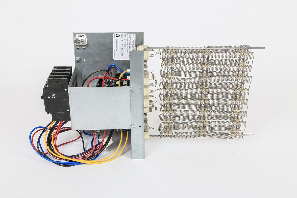 Photograph of Ideal-Air Electric Heat Strip w/ Circuit Breaker 20 kW 208 / 230 Volt