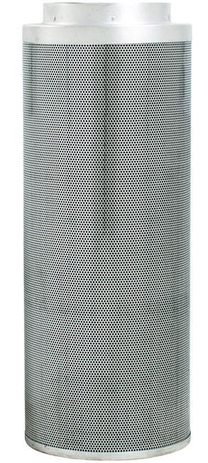 Phat Filter 39 inch x 12 inch, 1700 CFM The Phat Filter is a professional grade, world renowned greenhouse filter that will remove the nastiest odors from your growing area. Phat filters use a very special charcoal carbon that comes from a source of pre-Cambrian ore, or some of the oldest carbon found on earth. This carbon dates back 250 million years and is the reason our Phat Filters are so effective! The special carbon is mined from deep within the earth, activated with steam at very high temperatures and shipped to us for use. No hazardous compounds ever come into contact during the activation process. Keeping our planet green and clean is what we are all about! Genuine Phat Filters offer you the quality you can trust through non-pelletized carbon, using no glues or binders thereby increasing the effective filtering capability of Genuine Phat Filters. Featuring RC 412 Charcoal Includes Prefilter Given CFM rating is for scrubbing. Divide by 2 to get exhaust filter CFM Characteristics of Phat Filters: * Highly effective, Low density virgin carbon * Carbon tightly-packed for increased porosity * Greater & more even air movement provided by internal, conical filter base * Manufactured so that no air blows by the filter without being filtered * Outer aluminum mesh provides 53% open area allowing increased air flow * Genuine Phat Filters are immediately sealed after manufacture to help retain moisture, optimize presentation and improve life expectancy
