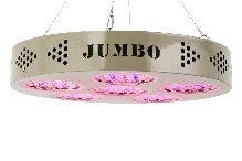 ProSource Illuminator Jumbo UFO 200W LED Grow Light *DISCONTINUED* This item has been discontinued, We recommend Black Dog LED - PhytoMAX-2 200W Grow Light as an alternative. After years of development, ProSource tested this model for over a year and through many rounds of testing. The ProSource Illuminator Jumbo UFO 200W LED Grow Light is perfect for growing one medium to large plant (5-6 feet) tall, by vegetating for approximately 25-28 days. NEW 5-Band Tri-Spectrum gives 4x the Photosynthetic Rate With the development of  Peak Targeting , Full Spectrum Technology, ProSource 5-Band System targets ALL peak efficiency values. With  Intelligent  Balancing that allows the 5-Band system to be scientifically balanced to provide the proper photosynthetic proportions to power these specific peak bands. For Example, Chlorophyll A, which is responsible for most of a plant's photosynthesis, if given too few of the allocation, will not achieve peak photosynthesis. If you provide too much, Chlorophyll A begins to shut down from overload, while other photosynthetic elements starve due to the under-allocated crucial LED Bands. The 5-Band Tri-Spectrum design, ProSource can deliver over 95% absorbable light to your plants using the key spectra of Red, Blue, and Infrared. The key wavelengths and design applications is what makes this configuration work so well and this is what other LED Grow Lights on the market will find very difficult to duplicate. Features 600W HID Equivalent Use for 10 Years instead of 2 with HID Bulbs 80% more energy efficient than MH or HPS lamps No additional cooling equipment required CE and ROHS Compliant Three year warranty Specifications Dimensions: 15  X 3  Weight: 15 lbs Output Power: 193 Watt - 1.6 AMPS Life Expectancy: 50,000+ hours Approved for 24 hour use Operating Temperature: -4F to +104F (-20C to +40C) Voltage: 110v US / 220v European Beam Angle: Varying Degree Angle Wavelengths Or Tck: Red 662+, Infrared, Blue Color Spectra: Red, Infrared, and 