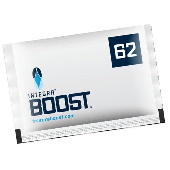 Photograph of Integra Boost 67g Humidiccant by Desiccare 62% Humidity Packs