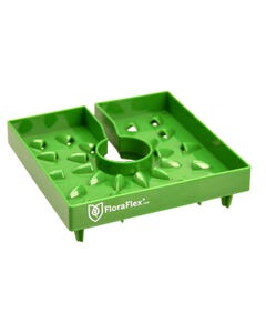 "FloraFlex 6"" FloraCap 2.0 Top Feed Dripper for Rockwool Cubes"