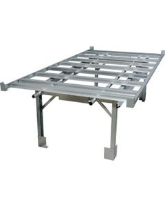 Active Aqua 4' X 8' Rolling Bench System