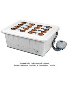 SuperCloset SuperPonic 16 - Hydroponic Grow System