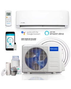 MrCool Advantage 3rd Gen 12,000 BTU 1 Ton Ductless Mini Split Air Conditioner and Heat Pump - 230V/60Hz