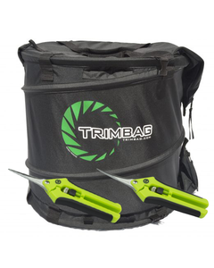 Trimbag Collapsible Hand-held Dry Trimmer + 2 Pairs of Trimming Scissors