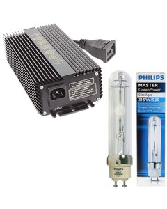 Prism Lighting Science 315W Ceramic Metal Halide CMH Ballast Philips Bulb Combo 120/240V