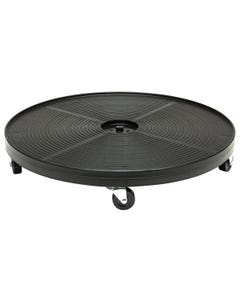 Plant Dolly Black 24 in Round