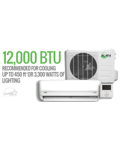 Aura Systems 12,000 BTU MINI-SPLIT 115v