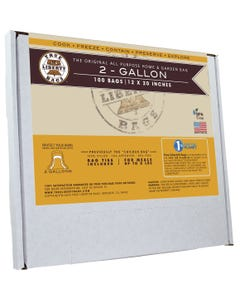 """True Liberty 2 Gallon """"Chicken"""" Bags 12 in x 20 in (100/pack)"""