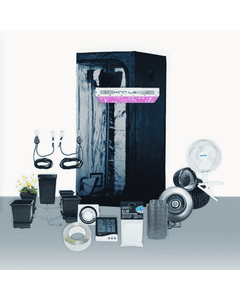 3' x 3' Grow Room 450W KIND LED Hydro Complete Grow Tent Package