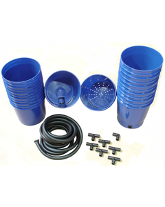 Greentrees Hydroponics Add-on Pots Kit (6 complete pots, fittings and tubing included)
