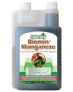SaferGro Biomin Manganese Pint