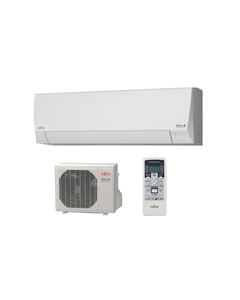 Fujitsu - 12k BTU Cooling + Heating - RL2 115V Wall Mounted Air Conditioning System - 16.0 SEER