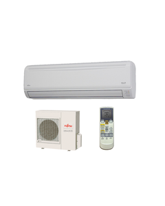 Fujitsu - 30k BTU Cooling + Heating - RLXB Wall Mounted Air Conditioning System - 16.5 SEER