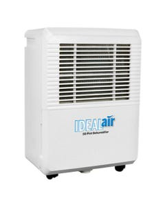 Ideal-Air Dehumidifier 30 Pint - Up to 50 Pints Per Day