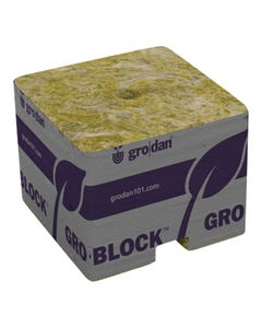 Grodan PRO Starter Mini-Blocks 1.5 in Unwrapped Commercial 2,250 Per Case