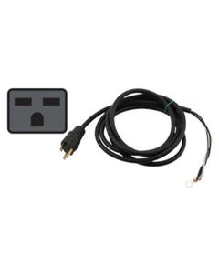 Power Cord 240 Volt 8 ft with Open Wires