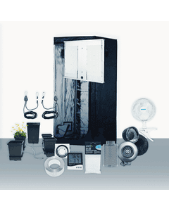 3' x 3' Grow Room 300W 4K HLG LED Hydro Complete Grow Tent Package