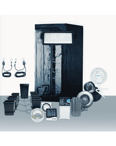 4' x 4' Grow Room 530W PLS LED Hydro Complete Grow Tent Package