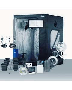 5' x 5' Grow Room 320W PLS LED Hydro Complete Grow Tent Package