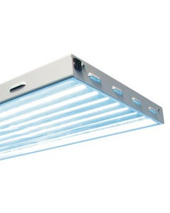 Sun Blaze T5 HO Fluorescent Light Fixture -- 4 Ft - 6 Lamp
