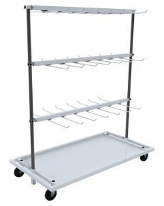 VRE Systems Mobile Hanging Dry Rack