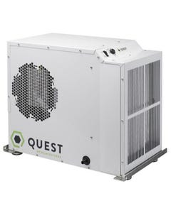 Quest Dual 150 Overhead Dehumidifier - Factory Remanufactured - 3 Year Warranty