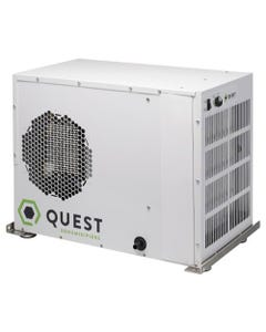 Quest Dual 110 Overhead Dehumidifier - Factory Remanufactured - 3 Year Warranty