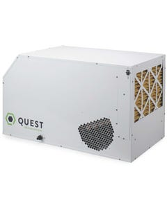 Quest Dual 165 Overhead Dehumidifier 220-240V - Factory Remanufactured - 3 Year Warranty