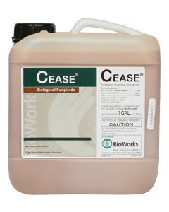 Cease - Microbial Fungicide and Bactericide - OMRI Listed - 1 Gallon