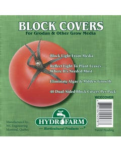 4 inch Rockwool Block Covers, pack of 40