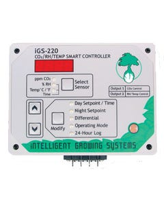 iGS-220 CO2/RH/Temperature Smart Controller