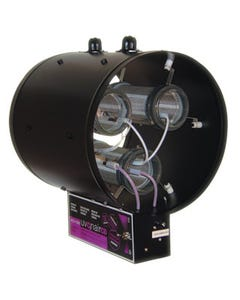 Uvonair 10 Inch CD-In-Line Duct Ozonator 2 Cells