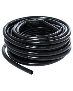 Hydro Flow Vinyl Tubing Black 1/2 in ID - 5/8 in OD 100 ft Roll