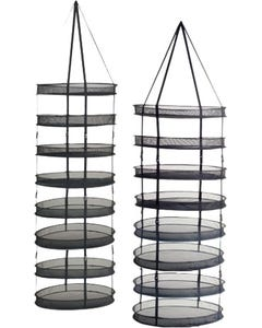 Ezi Drying Rack - 8 Tier - 2' Diameter w/clips
