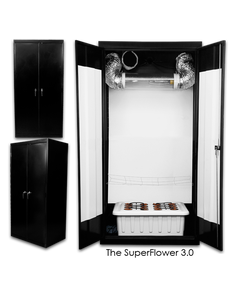 SuperCloset  SuperFlower 3.0 - Grow Cabinet