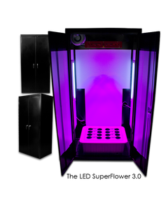 SuperCloset  LED SuperFlower 3.0 - LED Grow Cabinet