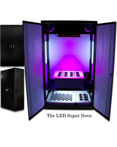 SuperCloset LED SuperNova - LED Grow Cabinets