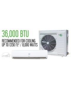Aura Systems 36,000 BTU 3 Ton Mini Split AC Unit 16 SEER