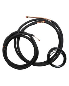 Ideal-Air Mini Split Line Set - 1/4 in x 5/8 in - 25 ft for 2 and 3 Ton Single Zone