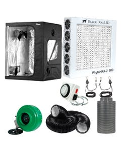 Black Dog LED PhytoMAX-2 600W LED Grow Room Package - 5 x 5
