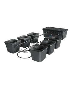 SuperCloset - SuperPonic Bubble Flow Buckets - 6 Site System