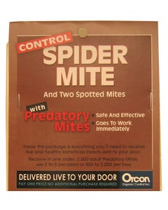 Predatory Mites Mail-Back, pack of 5