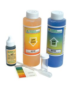General Hydroponics pH Test Color Match Control Kit