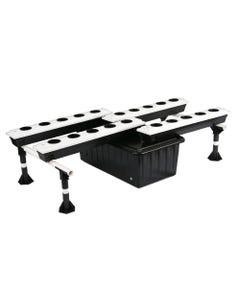 SuperCloset Super Flow Ebb and Flow Hydroponic Grow System - 20 Site System