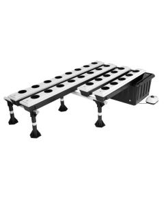SuperCloset Super Flow Ebb and Flow Hydroponic Grow System - 26 Site System