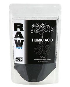 RAW Humic Acid  0-0-4  -  2 lbs