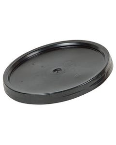 Black Plastic Bucket Lid for 3 1/2 & 5 Gal Buckets