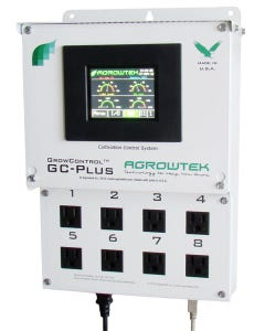 AgrowTek GC-PLus Control System with 8 120V/15A oulets